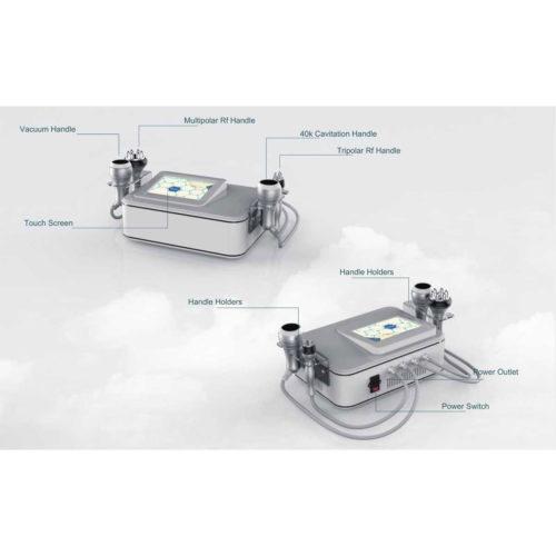 4D Cavitation & RF Vacuum Slimming Machine